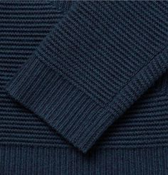 Alexander Wang Ottoman Ribbed Merino Wool Sweater