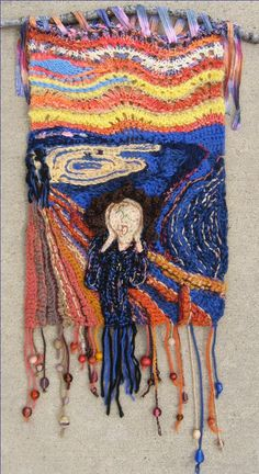IFFCG 2012 Challenge – Loren Gaggini. Interpretation of The Scream.