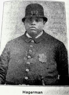 Harry Hagerman Cincinnati first African American police officer, 1884 Moving To California, Police Officer, Cincinnati, Elementary Schools, Over The Years, Ohio, African, History, Columbus Ohio