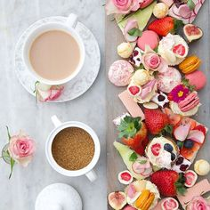 How delicious does this Mother's Day spread look?! ( by @capturebylucy) #afternoontea #mothersdaytreats