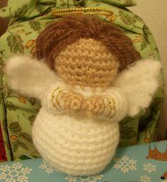 Amigurumi Nativity: Crocheted Angel Pattern