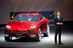 Back at the 2012 Beijing Motor Show, Lamborghini gave the world a look at what a Raging Bull-badged utility vehicle would look like. Lamborghini has now put any doubt to bed, announcing this week that it is moving ahead with production of a luxury SUV. Lamborghini For Sale, Lamborghini Photos, Car Buying Guide, Car Guide, Sports Car Brands, Sport Cars, Audi Q7, Crossover, Bugatti Models