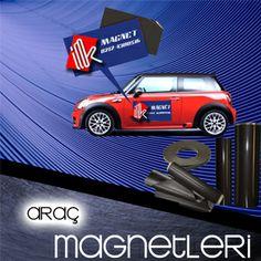 Araç magnetleri sayesinde firmanızın logosonu veya yeni ürününüzün lansmanını aracınızın dolaştığı her noktada kolayca yapabilirsiniz.  www.magnettoptan.com
