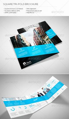 Creative Fold PhotoshopIndesign Brochure Templates - Free indesign tri fold brochure templates