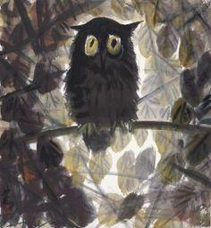 Lin Fengmian - Owl