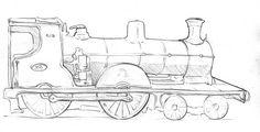 Locomotive sketches