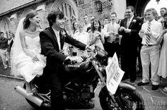 Vespa wedding.