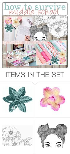 """""""✧how to survive middle school"""" by stxrry-skies ❤ liked on Polyvore featuring art, BackToSchool and xtipsbysashax"""