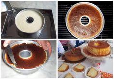 Crema Volteada from Peru Peruvian Desserts, Peruvian Recipes, Cake Cookies, Cupcake Cakes, Cupcakes, Flan Recipe, Doughnut, Baked Goods, Dessert Recipes