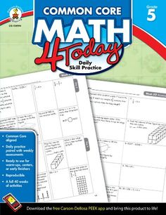 169 best homeschooling books i want images on pinterest common core math 4 today grade 5 daily skill practice common core 4 fandeluxe Image collections