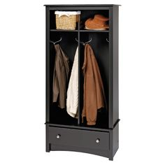 Perfect for the mudroom or an apartment.