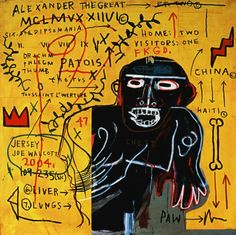 # JeanMichelBasquiat✖️More Pins Like This One At FOSTERGINGER @ Pinterest✖️