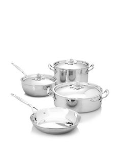 Ruffoni Stainless Steel Cookware Set in Wooden Box Cookware Set, Image House, Wooden Boxes, Home Kitchens, Ideal Home, Kitchen Dining, Home Furniture, Sweet Home, Stainless Steel