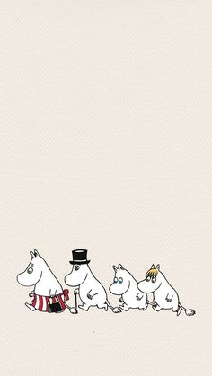 Moomin Wallpaper, Cute Disney Wallpaper, Cute Cartoon Wallpapers, Iphone Wallpaper, Estilo Coco Chanel, Iphone Cartoon, Moomin Valley, Tove Jansson, Love Illustration