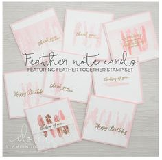 feathers, feather together, pink, embossing, gold