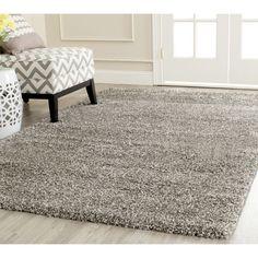 Safavieh Milan Shag Grey Rug (4' x 6') | Overstock.com Shopping - The Best Deals on 3x5 - 4x6 Rugs