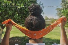 How to FOLD a Bandana Into a Headband | All Size Fits One