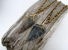 arrowhead necklaces :)