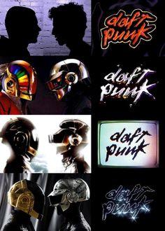 Daft Punk  Homework Discovery Human After All Random Access Memories