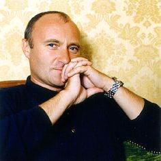 """Phil Collins. An 80's icon. """"Against All Odds (Take A Look At Me Now) remains one of my favorite pop tunes ever!"""