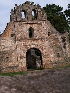 Ruinas al tiempo    Las ruinas de Ujarras, Cartago, Costa Rica