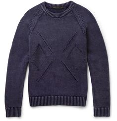 Marc by Marc Jacobs - Knitted Cotton-Blend Sweater | MR PORTER