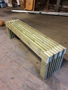 Diy Projects For Men, Diy Wood Projects, Patio Bench, Diy Patio, Backyard Layout, Backyard Landscaping, Diy Outdoor Furniture, Outdoor Decor, Diy Interior