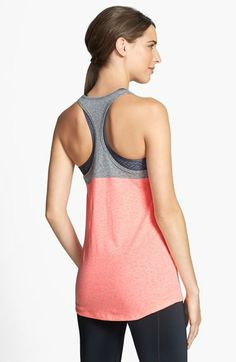 Under Armour 'Legacy' Charged Cotton® Colorblock Tank