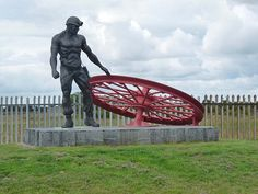 This is one of the many monuments to commemorate the defunct coal mining industry which may be found in former pit villages throughout the North-East Coalfield. This one stands opposite the old Ellington Colliery Institute (now the. Coal Miners, North East England, Working Man, North Sea, Cumbria, Before Us, Durham, Newcastle, Great Britain