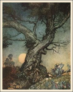Arthur Rackham — Faeries — 1914