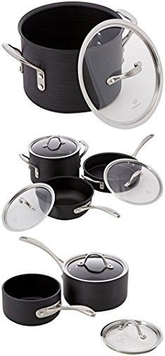 Calphalon Commercial Hard Anodized. Calphalon 13 Piece Commercial Hard Anodized Cookware Set.  #calphalon #commercial #hard #anodized #calphaloncommercial #commercialhard #hardanodized