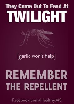 You won't lose your soul if a mosquito bites you, but you could lose your health - it's West Nile virus season, so stay protected!  Get all the facts at HealthyMS.com/westnile.  Check out HealthyMS on Facebook, too!