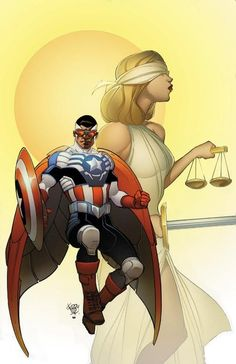 All New Captain America #1 by Pasqual Ferry