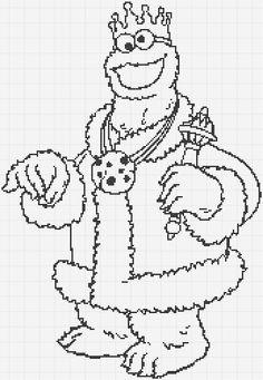 Luvs 2 Knit: Sesame Street Oscar The Grouch Charts