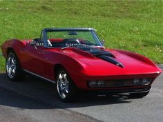 1966 Chevy Corvette Maintenance of old vehicles: the material for new cogs/casters/gears/pads could be cast polyamide which I (Cast polyamide) can produce Old Corvette, Classic Corvette, Chevrolet Corvette, Corvette Summer, Vintage Cars, Antique Cars, Convertible, Little Red Corvette, Chevy