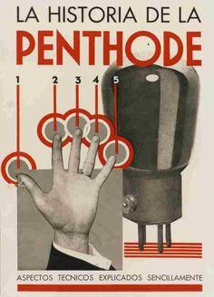 Philips Penthode tube valve brochure, 1927 | #retro #vintage