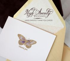 Another clever way to do High Society Stationery from your own home and at the fraction of the cost - Damask Love!!