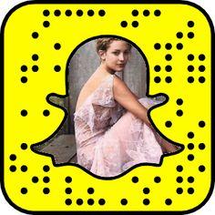 Kate Hudson's Snapchat Code #snapcode #snapchat #celebrity