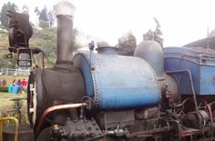 The famous Darjeeling Himalayn Railway or as popularly known, the Toy Train.