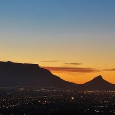 Cape Town, you are so beautiful! Beautiful Sky, You Are Beautiful, San Junipero, Table Mountain, Cape Town, Brewery, South Africa, Leaves, Mountains