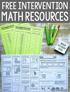Looking for free math beginning of the year benchmark tests? Collect data on your students so you can provide math intervention throughout the year. Our Math Intervention Packs are perfect for grade math, grade math, and grade math. Free Math Worksheets, Math Resources, 4th Grade Math Worksheets, 4th Grade Math Games, Math Activities, Fractions, Multiplication, Fifth Grade Math, Fourth Grade