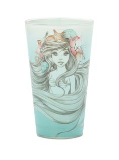Disney The Little Mermaid Ariel Pint Glass | Hot Topic