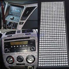 504Pcs Car Auto Interior Exterior Sticker Bling Crystal Design Rhinestone 6mm MA in eBay Motors, Parts & Accessories, Car & Truck Parts   eBay