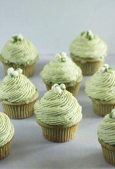 Matcha Wasabi Cupcakes