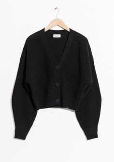 & Other Stories | Wool Button Sweater