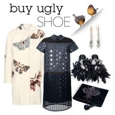 """""""Ugly (But Chic?!) Shoes"""" by emavera ❤ liked on Polyvore featuring Valentino, Kolor, Hillier Bartley, Sanayi 313, valentino, uglyshoes, kolor, HillierBartley and sanayi313"""