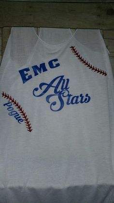 Emc all Stars baseball find us on Facebook at Sweet Texas ts to order your custom shirts today!