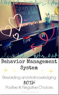 behavior management system for children at home.  rewarding BOTH positive behavior and catching the negative behavior.