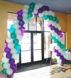 How to make a Balloon Arch and Balloon Columns