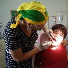 Paciente no espectro do autismo em prevenção
